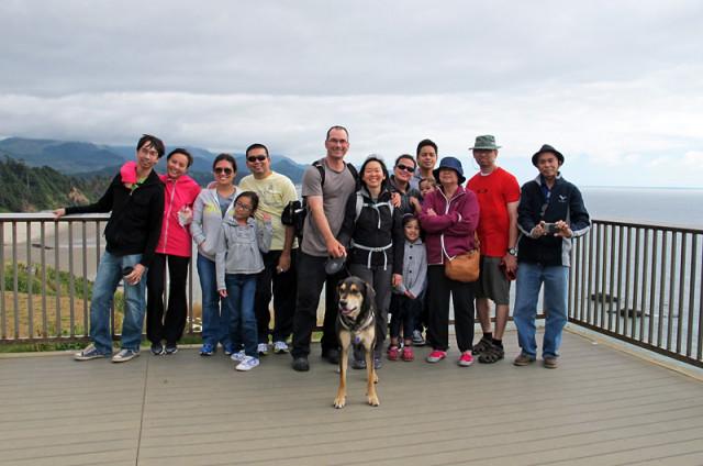 Family Reunion at Canon Beach Oregon